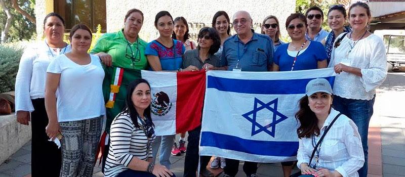 La subsecretaria de Desarrollo Rural de la Secretaría de Agricultura, Ganadería, Desarrollo Rural, Pesca y Alimentación, Mely Romero Celis, durante su gira de trabajo por Israel.