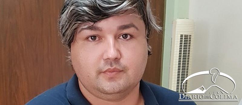 Ángel Novela, presidente de la Diversidad Sexual del Valle de Tecomán.
