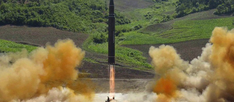 Misil balístico de Corea del Norte.