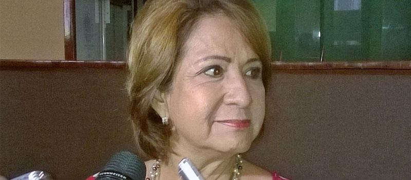 Presidenta de la Comisión de Gobierno Interno y Acuerdos Parlamentarios del Congreso, Martha Sosa Govea