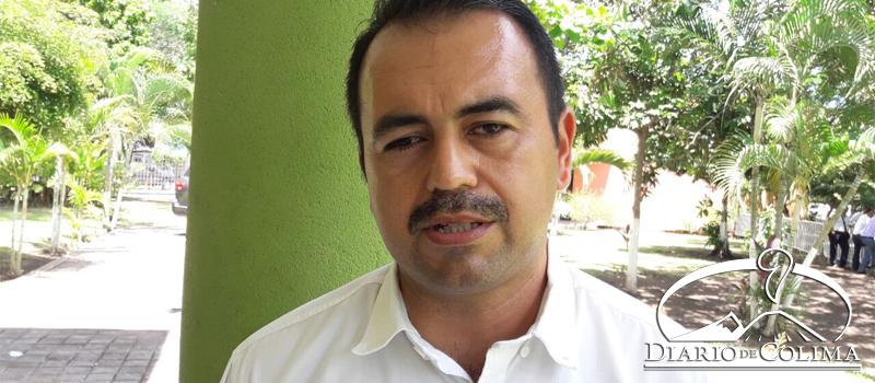 Armando Reyna Magaña, secretario general de la Unión de Taxistas