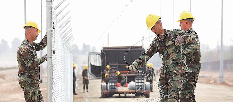 El Comité de Seguridad Nacional de la Cámara de Representantes de EU aprobó un proyecto de ley de seguridad fronteriza, que incluye 10 mil millones de dólares para la construcción de un muro fronterizo con México.