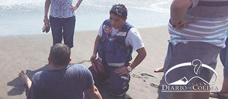 Un total de 28 salvavidas resguardan las playas de Tecomán. En lo que va del periodo vacacional, se han rescatado 18 personas de las aguas marinas.