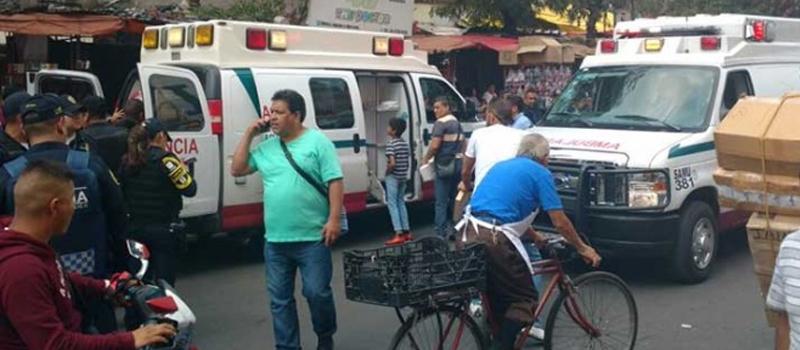 Al menos siete personas fueron heridas esta tarde en una balacera registrada en el Eje 1 Norte al cruce con Jesús Carranza.