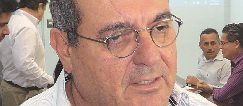 Presidente de la Coparmex, Mario Moncada Cantú.
