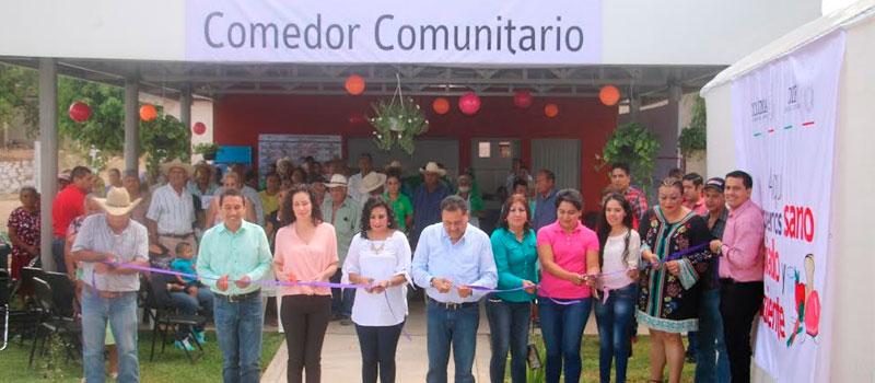 Diario de colima for Proyecto de comedor comunitario