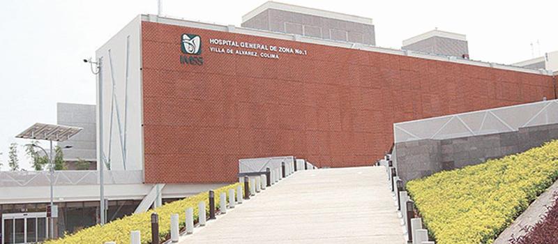 El Hospital General de Zona No. 1 en Villa de Álvarez comenzó a brindar atención en las especialidades de pediatría,  cuidados intensivos neonatales, así como medicina interna.