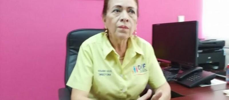 Directora del DIF municipal, Rosario Solís Sánchez.