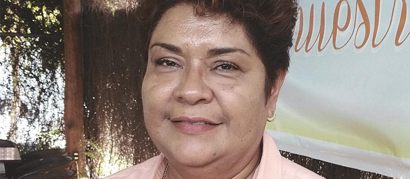 Secretaria general del Sindicato de Trabajadores al Servicio del Ayuntamiento, Teresa Ramírez