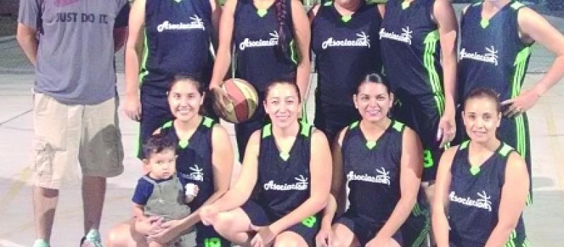 Asociación superó a Tecomán, en la rama femenil, de la Liga Amigos de Baloncesto.