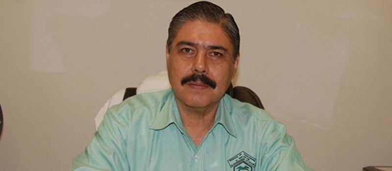 Secretario general del Sindicato de Trabajadores al Servicio del Ayuntamiento de Colima, Héctor Arturo León Alam.