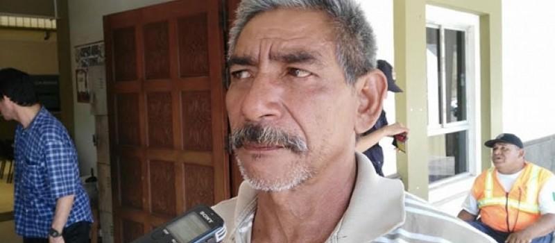 Presidente de la Sociedad Cooperativa de Pescadores de El Paraíso, José Rosario Cisneros Gómez.