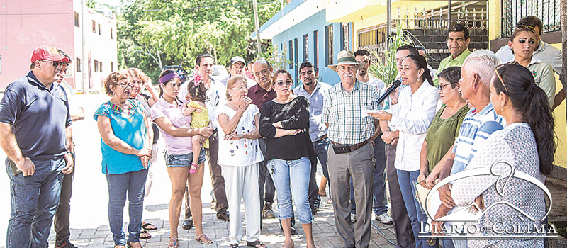 La alcaldesa Gabriela Benavides Cobos entregó la rehabilitación de cuatro calles en el fraccionamiento Corales, en el Barrio 2 del Valle de las Garzas.