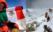 Mexicana conquista el Everest